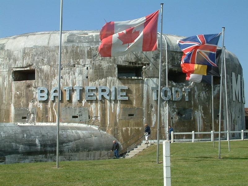Musée du Mur de l'Atlantique - Batterie Todt