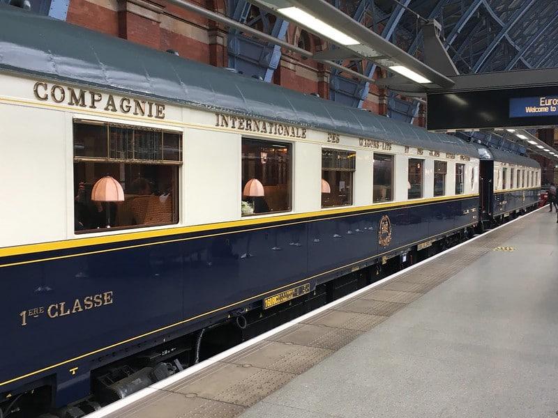 Orient Express Venice-Simplon au départ de la ville de Calais, un évènement insolite en côte d'opale