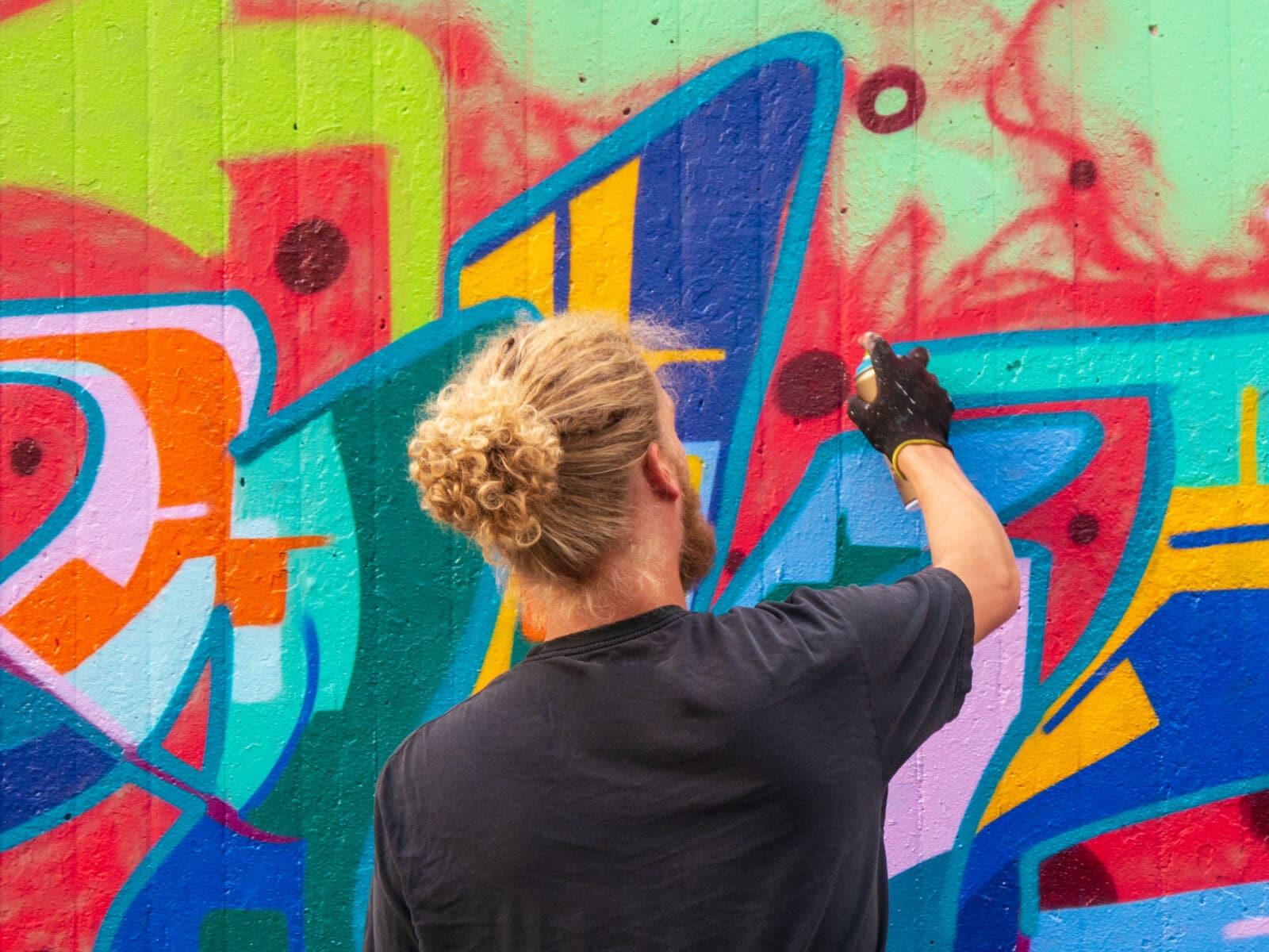 Oeuvre de street art
